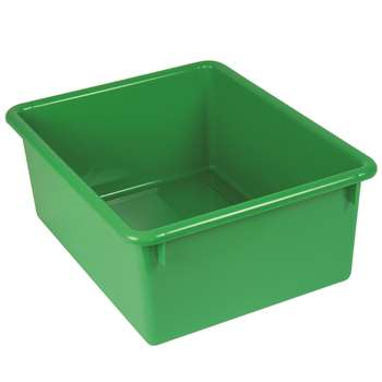 5In Stowaway Letter Box Green No Lid 13 X 10-1/2 X 5 By Romanoff Products