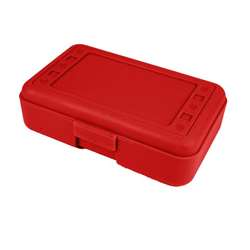 Pencil Box Red By Romanoff Products