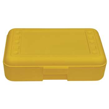 Pencil Box Yellow By Romanoff Products