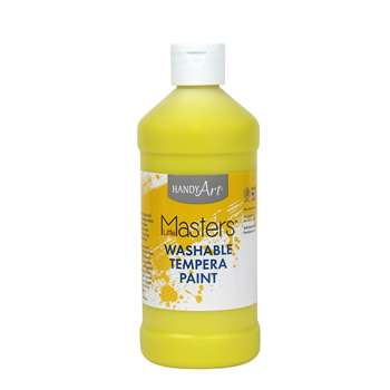Little Masters Yellow 16Oz Washable Paint By Rock Paint / Handy Art