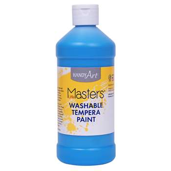 Washable Tempera Paint Pint Lt Blue Little Masters, RPC211732