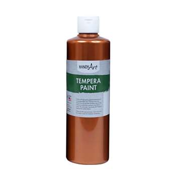 16Oz Metallic Copper Tempera Paint Handy Art, RPC231164
