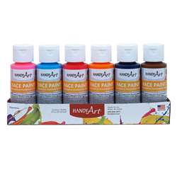 6Pk Washable Face Paint Kit Handy Art, RPC882580