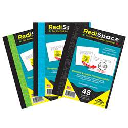 Redi Space Composition Notebook 48 Shts, RS-48COMP