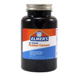 Rubber Cement W/Applc 8Oz By Ross Adhesives