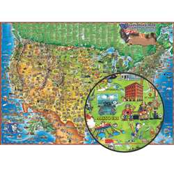 Childrens Map Of The Usa, RWPDM005