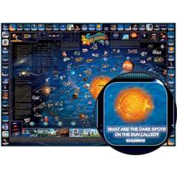 Childrens Map Of The Solar System, RWPDM006