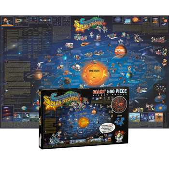 Solar System Map Jigsaw Puzzle, RWPDP003