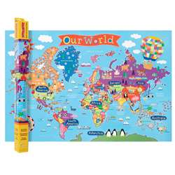 World Map For Kids, RWPKM01