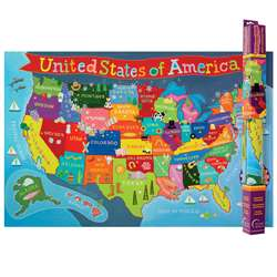 United States Map For Kids, RWPKM02