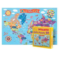 World Jigsaw Puzzle For Kids, RWPKP01