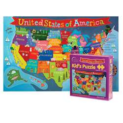 United States Jigsaw Puzzle For Kid, RWPKP02