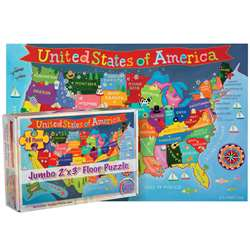 United States Floor Puzzle For Kids, RWPKP04