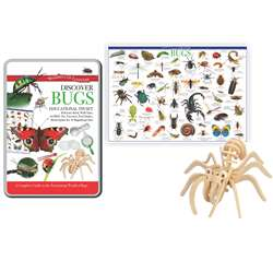 Tin Set Discover Bugs Wonders Of Learning, RWPTS02