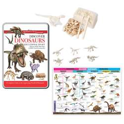 Tin Set Discover Dinosaurs Wonders Of Learning, RWPTS03