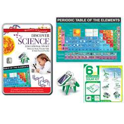 Tin Set Discover Science Wonders Of Learning, RWPTS06