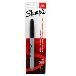 Sharpie Fine Blk Carded By Newell