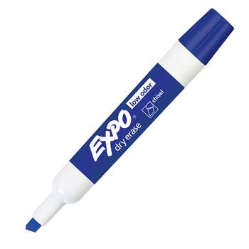 Expo 2 Low Odor Dry Erase Marker Chisel Tip Blue By Newell