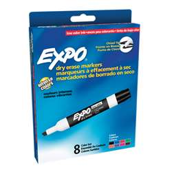 Marker Expo 2 Dry Erase 8 Color Blk Rd Blu Grn Yllw Brwn Prpl By Newell
