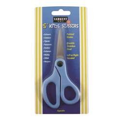 Childs Safety Scissors 5 In Pointed Tip On Card Left Or Right Handed By Sargent Art