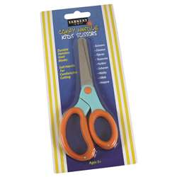 Childs Comfy Grip Scissors 5 In Blunt Tip On Card By Sargent Art