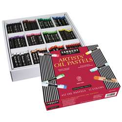 432Ct Oil Pastel Assortment 12 Vibrant Colors By Sargent Art