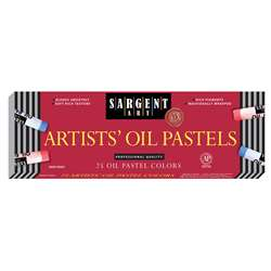Sargent 25Ct Regular Oil Pastels By Sargent Art