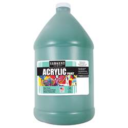64Oz Acrylic - Green By Sargent Art