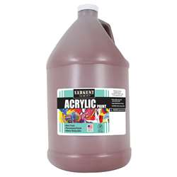 64Oz Acrylic - Brown By Sargent Art