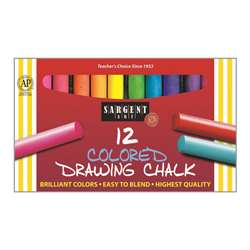 12Ct Drawing Chalk By Sargent Art