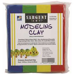 Sargent Art Modeling Clay Primary Colors By Sargent Art
