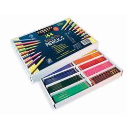 144Ct Sargent Colored Pencil Best Buy Assortment 8 Colors 18 Of Each By Sargent Art