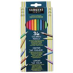 Sargent Art Colored Pencils 36 Colors By Sargent Art