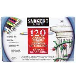 Sargent Art Colored Pencils 120 Colors By Sargent Art