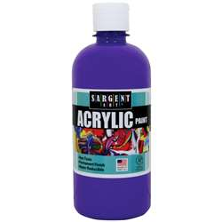 16Oz Acrylic Paint - Violet By Sargent Art