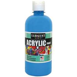 16Oz Acrylic Paint - Turquoise By Sargent Art