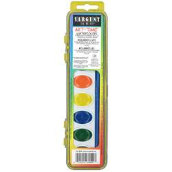 8 Semi Moist Watercolor Set By Sargent Art