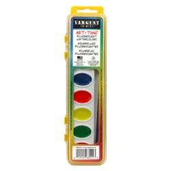 Shop Watercolor 8 Fluor Colors - Sar668222 By Sargent Art