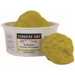 1Lb Art Time Dough - Yellow By Sargent Art