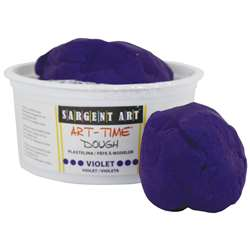 1Lb Art Time Dough - Violet By Sargent Art