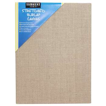 Stretched Canvas 12x16 Burlap, SAR902029
