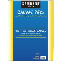 Sargent Art Canvas Pad 18x24, SAR904003