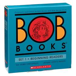 Bob Books Set 1 Beginning Readers By Scholastic Books Trade