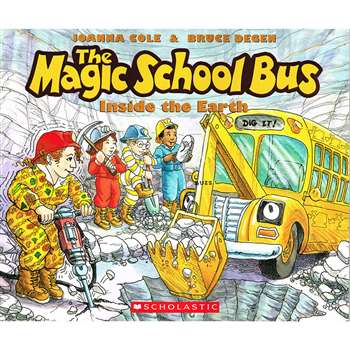 Magic School Bus Inside The Earth By Scholastic Books Trade