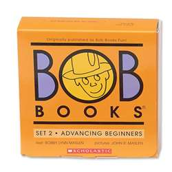 Bob Books Set 2 Advancing Beginners By Scholastic Books Trade