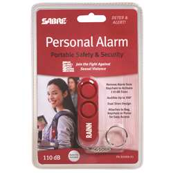 Red Personal Alarm Supports Rainn, SBCPARAINN01