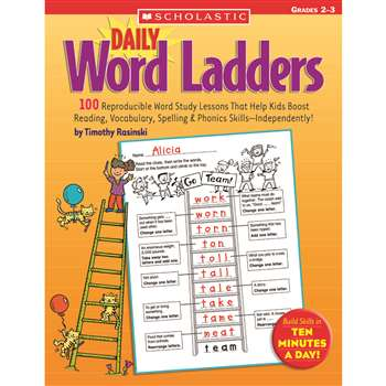 Daily Word Ladders Gr 2-3 By Scholastic Books Trade