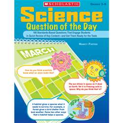 Science Question Of The Day By Scholastic Books Trade