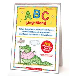 Abc Sing Along Flip Chart & Cd By Scholastic Books Trade
