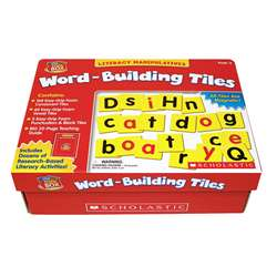 Little Red Tool Box Word Building Tiles By Scholastic Books Trade